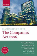 Blackstone s Guide to the Companies Act 2006