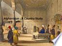 Afghanistan   A Country Study