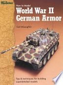 How to Model World War II German Armor