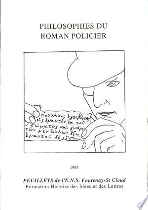 Philosophies du roman policier - ISBN:9782902126125