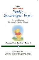 Pooh s scavenger hunt
