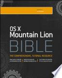 OS X Mountain Lion Bible