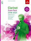 Clarinet Exam Pack 2018-2021, ABRSM Grade 5