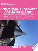 Construction   Evaluation  CE  ARE 5 0 Mock Exam  Architect Registration Exam