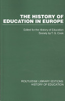 The History of Education in Europe