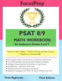 PSAT 8 9 Math Workbook