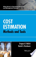 Cost Estimation : the various applications, and the available resources for...