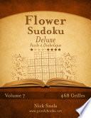 illustration Flower Sudoku Deluxe - Facile à Diabolique - Volume 7 - 468 Grilles