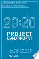 20 20 Project Management