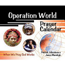 Operation World Prayer Calendar