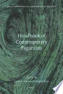 Handbook Of Contemporary Paganism book