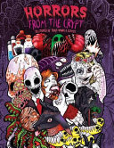 Adult Coloring Book  Horrors from the Crypt