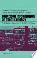 Sources of Information on Atomic Energy
