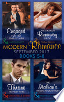 download ebook modern romance september 2017 books 5 - 8 (mills & boon e-book collections) (one night with consequences, book 33) pdf epub