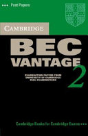 Cambridge BEC Vantage 2 Cassette