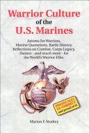 Warrior Culture of the U  S  Marines