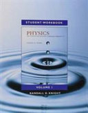 Student Workbook for Physics for Scientists and Engineers  A Strategic Approach  Vol 1   CHS 1 21