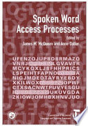 Spoken Word Access Processes Book PDF