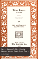 Works: Les misérables; Fantine. Cosette. Marius. Saint-Denis. Jean Valjean