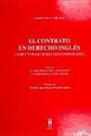 El Contrato en Derecho Inglés