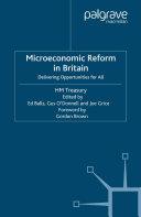 Microeconomic Reform in Britain