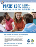 Praxis Core Academic Skills for Educators Tests  Book   Online