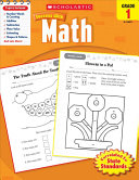 Scholastic Success With Math  Grade 1