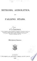 Meteors  Aerolites  and Falling Stars Book PDF