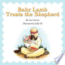 Baby Lamb Trusts The Shepherd