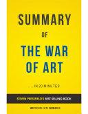 download ebook the war of art: by steven pressfield   summary & analysis pdf epub