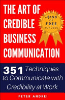 Book The Art of Credible Business Communication