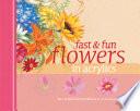 Fast   Fun Flowers in Acrylics