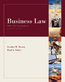 Business Law with UCC Applications Student Edition