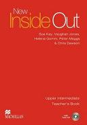 NEW INSIDE OUT UPPER INTERMEDIATE(TEACHER S BOOK)(CD1장포함)