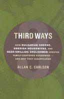 Third Ways