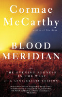 Blood Meridian : dying is augmented by blood...