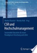 CSR und Hochschulmanagement