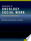 Handbook of Oncology Social Work