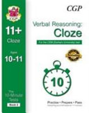 10 Minute Tests for 11  Verbal Reasoning  Cloze Ages 10 11   CEM Test