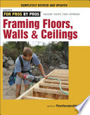 Framing Floors  Walls  and Ceilings