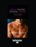 Queer Theory  Gender Theory