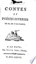 Contes et poésies diverses