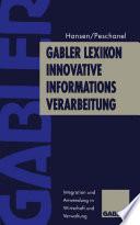 Gabler Lexikon Innovative Informations-Verarbeitung