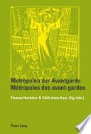 Metropolen der Avantgarde