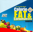 The Calorie King Calorie Fat   Carbohydrate Counter 2006