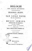 Dialoghi nel Regno de' morti Dialogo primo [-quarantesimo ottavo] ... Dell'abate Lorenzo Ignazio Thjulen