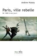 Book Paris, ville rebelle