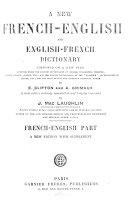 Nouveau dictionnaire anglais-français et français-anglais ...