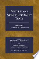 Protestant Nonconformist Texts Volume 4
