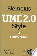 The Elements of UML TM  2 0 Style